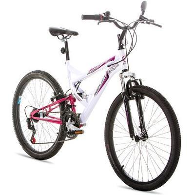 Bicicleta Houston Vivid Aro 26 Branco com Vermelho