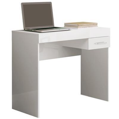Mesa para Notebook Artely Cooler MDF com 1 Gaveta Branco