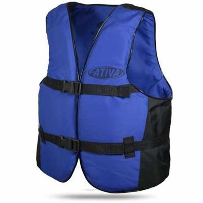 Colete Ativa Canoa 100Kg Azul
