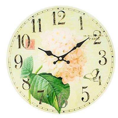 Relógio de Parede Latcor LA3-B4502 com Maquinismo de Pequeno Volume Ilustrado