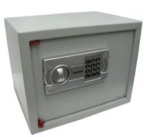 Cofre Eletrônico Secursafe Aço 5kg Senha programada pelo usuário Bege