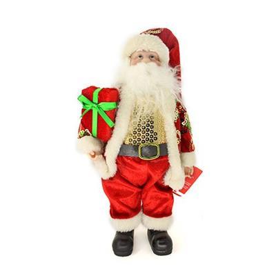Papai Noel Decoração de Natal Santini Christmas 048-454144 Vermelho