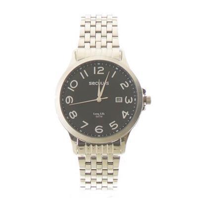 Relógio Masculino Seculus 23601G0SVNA1 Analógico Pulseira de Aço