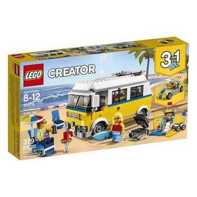 Brinquedo Lego Creator Sunshine Van de Surfista 31079 Plástico