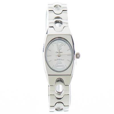 Relógio Feminino Champion CA28672D Analógico com Kit de Joias Pulseira de Aço Prateado