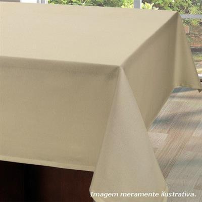 Toalha de Mesa Copa Vitale 140x140cm Beg