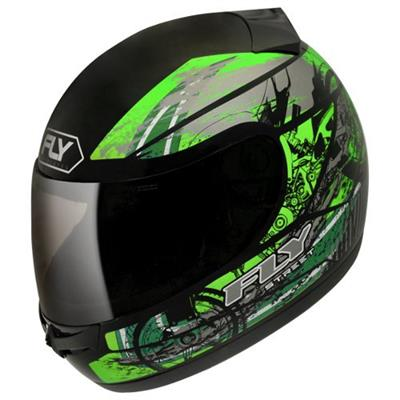 Capacete para Moto Peels Drive HG Street Tamanho 60 Preto e Verde