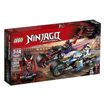 Brinquedo Lego Ninjago A Corrida de Rua de Serpente Jaguar 70639 Plástico