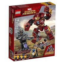 BRINQUEDO LEGO SUPER HEROES O ATAQUE DESTRUIDOR DE HULKBUSTER 76104
