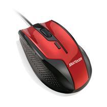 Mouse Multilaser Fire MO149 Vermelho Preto