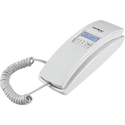 Telefone com Fio Intelbras TC2110 ID Branco