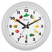 Relógio de Parede Herweg 6627/243 Estilo Decorativo Branco