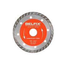 Disco Diamantado Turbo Belfix 221700 20mm para Mármores e Granitos
