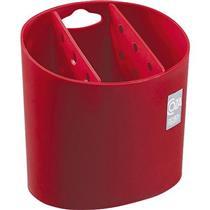 Porta-Talheres Coza 10840/0053 Plástico Vermelho