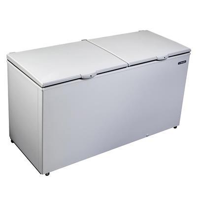 Congelador Horizontal 546 Litros Metalfrio DA550 com 2 Portas 110 V Branco