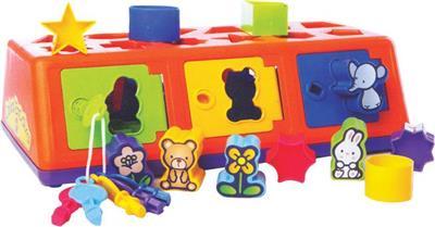 Brinquedo Estrela Caixa-Encaixa 1001104000005 Plástico