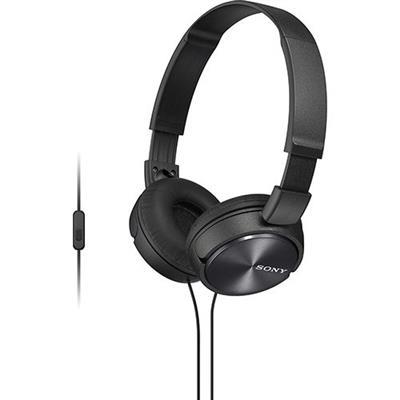 Fone de Ouvido Headphone Sony MDRZX310APBQCE7 24 Ohm com Controle de Volume Preto
