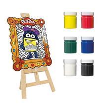 Brinquedo Play-Doh Kit de Pintura Meu Pequeno Artista Fun 80059