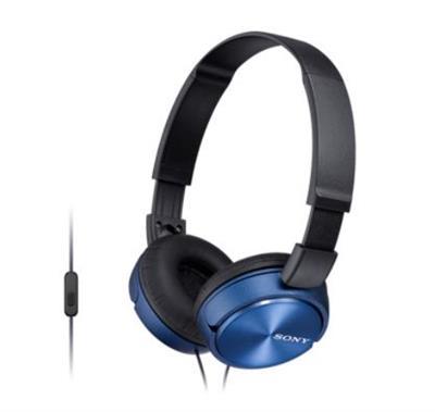 Fone de Ouvido Sony MDRZX310APLQCE7 1000mW Preto e Azul