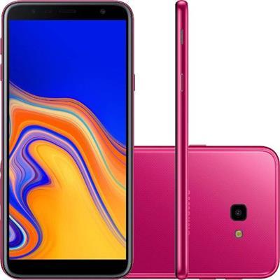 SMARTPHONE LIVRE SAMSUNG GALAXY J4+ SM-J415G/32DL 32GB 4G DUAL SIM, TELA 6, CÂMERA 13 + 5MP, ANDROID 8.1, ROSA