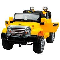 Brinquedo Jipe Elétrico Belfix 927600 Bateria Recarregável Amarelo