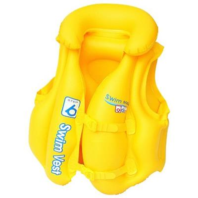 Colete Inflável Belfix Swim Safe ABC 99700 Amarelo