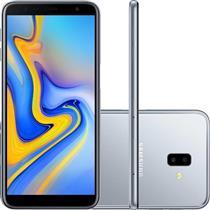 SMARTPHONE LIVRE SAMSUNG GALAXY J6+ SM-J610G/32DL 32GB 4G DUAL SIM, TELA 6, DUAL CAM TRASEIRA 13MP+5MP FRONTAL 8MP, ANDROID 8.1, PRATA