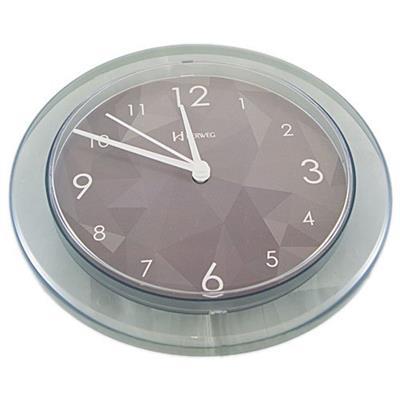 Relógio de Parede Quartz Herweg 6678/98 Estilo Decorativo Cinza