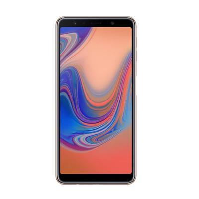 SMARTPHONE LIVRE SAMSUNG GALAXY A7 SM-A750G/64DS 64GB 4G DUAL SIM, TELA 6, TRIPLA CAM TRASEIRA 24MP+5MP+8MP FRONTAL 24MP, ANDROID 8.0, COBRE