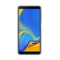 SMARTPHONE LIVRE SAMSUNG GALAXY A7 SM-A750G/64DS 64GB 4G DUAL SIM, TELA 6, TRIPLA CAM TRASEIRA 24MP+5MP+8MP FRONTAL 24MP, ANDROID 8.0, AZUL