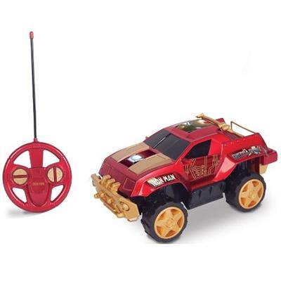 Carro de Controle Remoto Pick Up Homem de Ferro Guerra Civil Mimo 3200 Vermelho