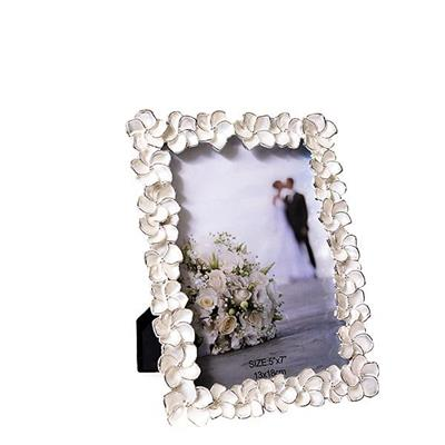 "Porta-Retrato Latcor H-985 Tamanho 5""x7"" Metal Prata"