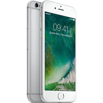 "Smartphone livre Apple iPhone 6s 32GB Prata Tela 4.7"" iOS 10 4G Câmera 12MP"