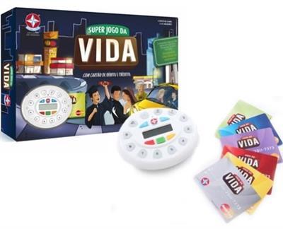 Jogo Super Jogo da Vida Estrela 1201602900068 com Máquinda de Cartão