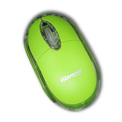 Mouse Maxprint Colors 6012034 USB Verde