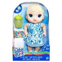 Boneca Baby Alive Hora do Xixi Hasbro E0385 Loira