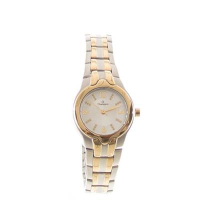 Relógio Feminino Champion CH24366D Analógico Pulseira de Aço com Kit