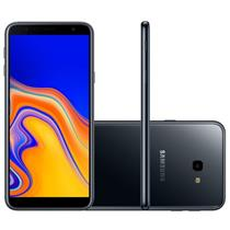 "Smartphone Samsung Galaxy J4+ 32GB 4G 2 Chips Tela 6"""" Câmera 13MP Frontal 5MP Android 8.1 J415G/32DL Preto"