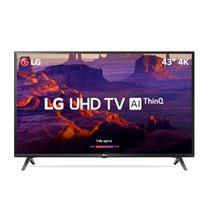 Smart TV LG 40'' LED Ultra HD 43UK6310PSE 2 USB 3 HDMI Wi-Fi 60Hz Preto