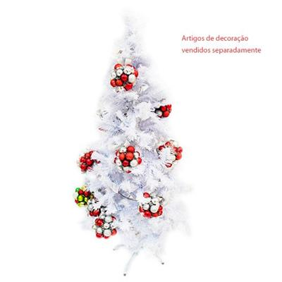 Árvore de Natal Latcor XM-119 Tipo Milano com 305 Galhos Tamanho 152,4cm Branca