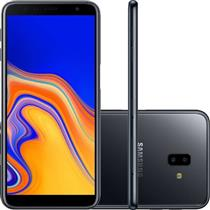 SMARTPHONE LIVRE SAMSUNG GALAXY J6+ SM-J610G/32DL 32GB 4G DUAL SIM, TELA 6, DUAL CAM TRASEIRA 13MP+5MP FRONTAL 8MP, ANDROID 8.1, PRETO