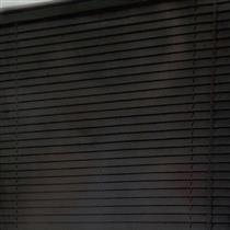 Persiana Becky Vinil 90x160 cm 25 mm Plástico Preto