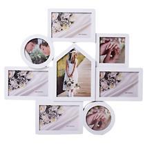 Porta-retrato com Moldura de Plástico Latcor KD820229 Branco