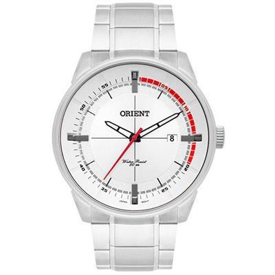 Relógio Masculino Mondaine MBSS1295 S1SX Analógico Pulseira de Aço Prata