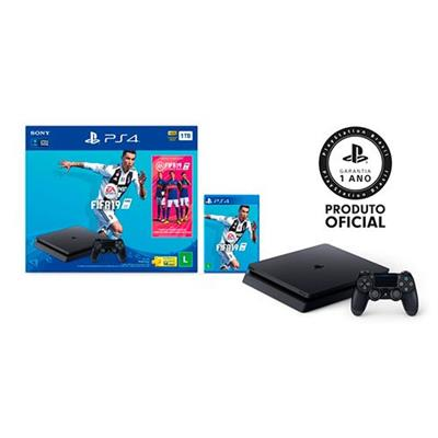 CONSOLE SONY PS4 1TB BUNDLE FIFA19 (RC)