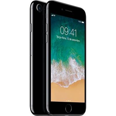 fe409a9bf SMARTPHONE APPLE IPHONE 7 32GB 4G, TELA 4.7, CÂMERA 12MP + 7MP FRONTAL, iOS  12, PRETO BRILHANTE