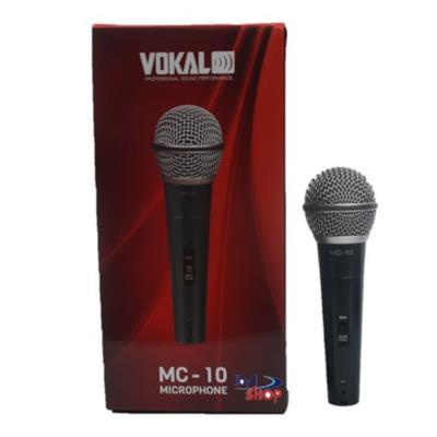 MICROFONE VOKAL MC10 COM FIO EM METAL