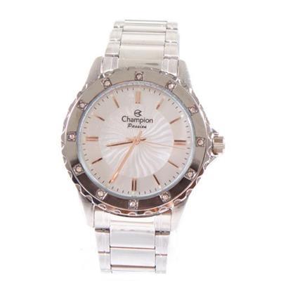 Relógio Analógico Feminino Champion CN29847S Aço Prateado