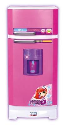 Geladeira Mágica Super de Brinquedo Magic Toys 8052 Plástico Rosa
