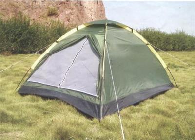Barraca Tenda para Acampamento Desmontável Latcor 09CJT-3006 Tamanho 200x140x100cm Verde